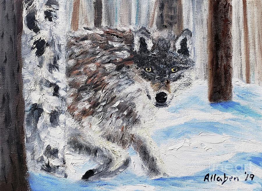 Wolf by Stanton Allaben