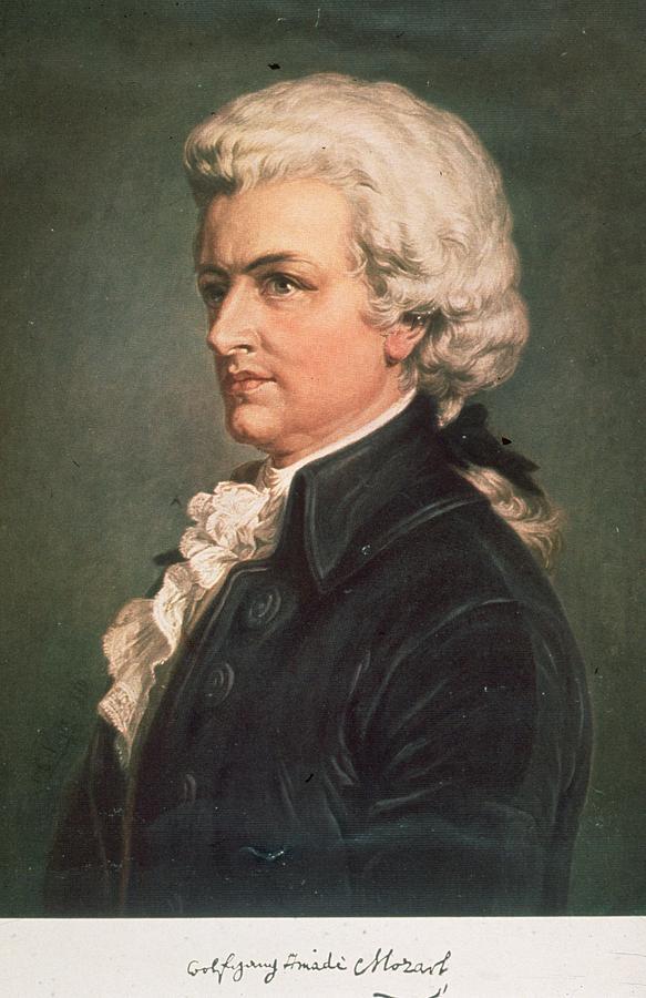 Wolfgang Mozart Photograph by Hulton Archive