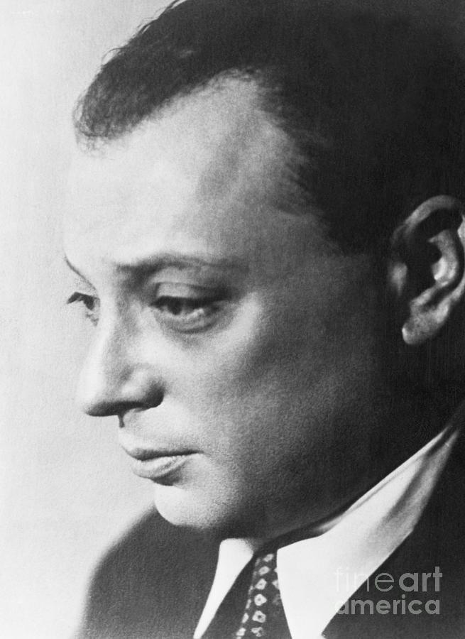 Wolfgang Pauli Photograph by Bettmann