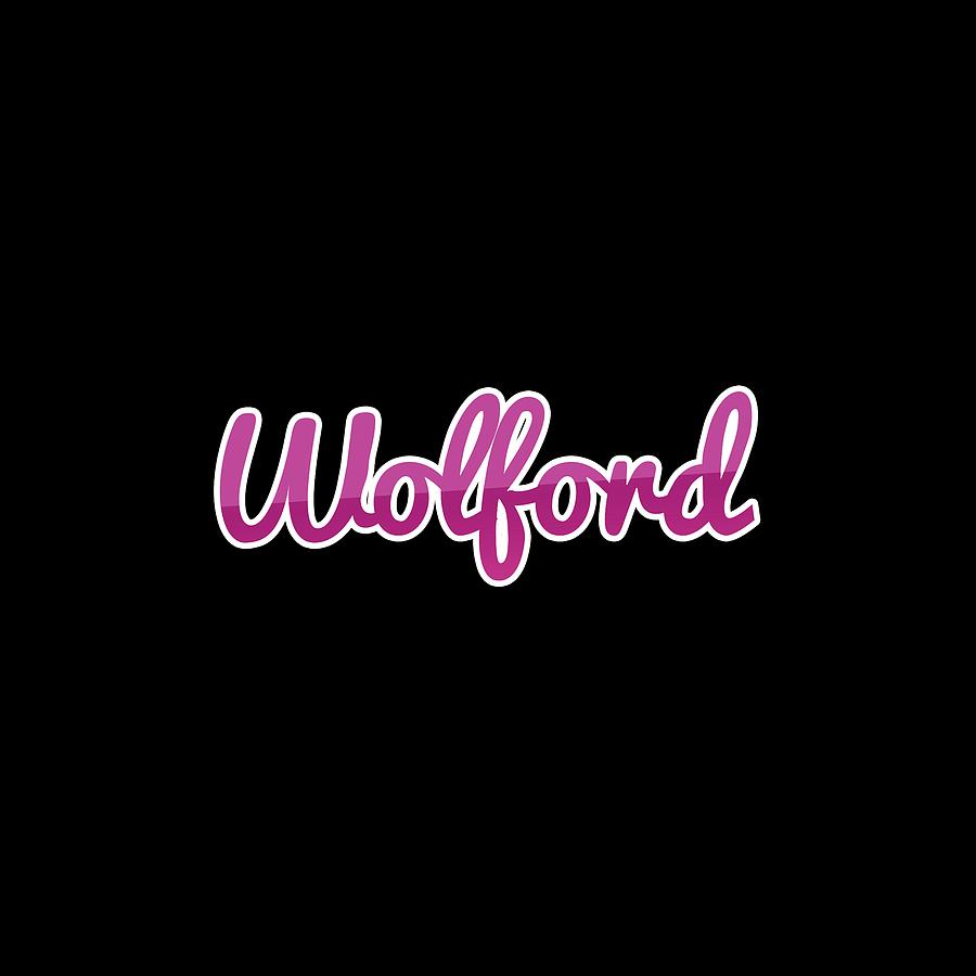 Wolford Digital Art - Wolford #wolford by Tinto Designs