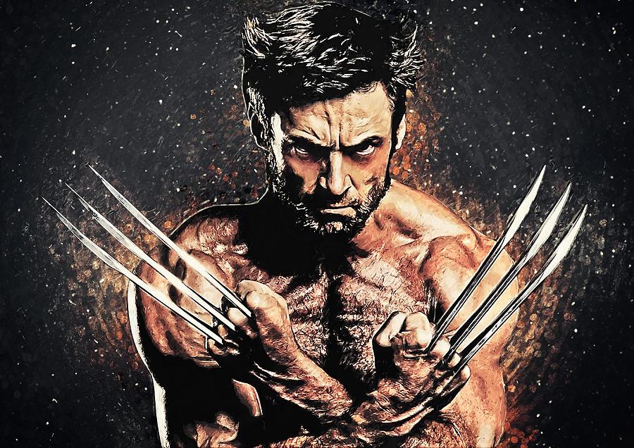 Wolverine Digital Art - Wolverine by Zapista OU