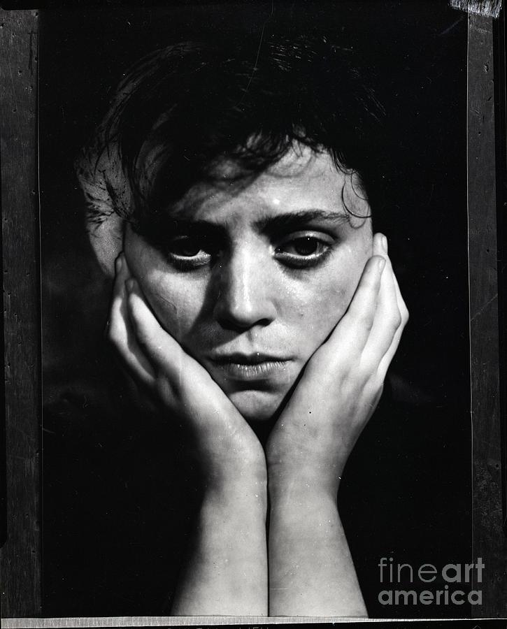 Woman Holding Her Head Photograph by Bettmann