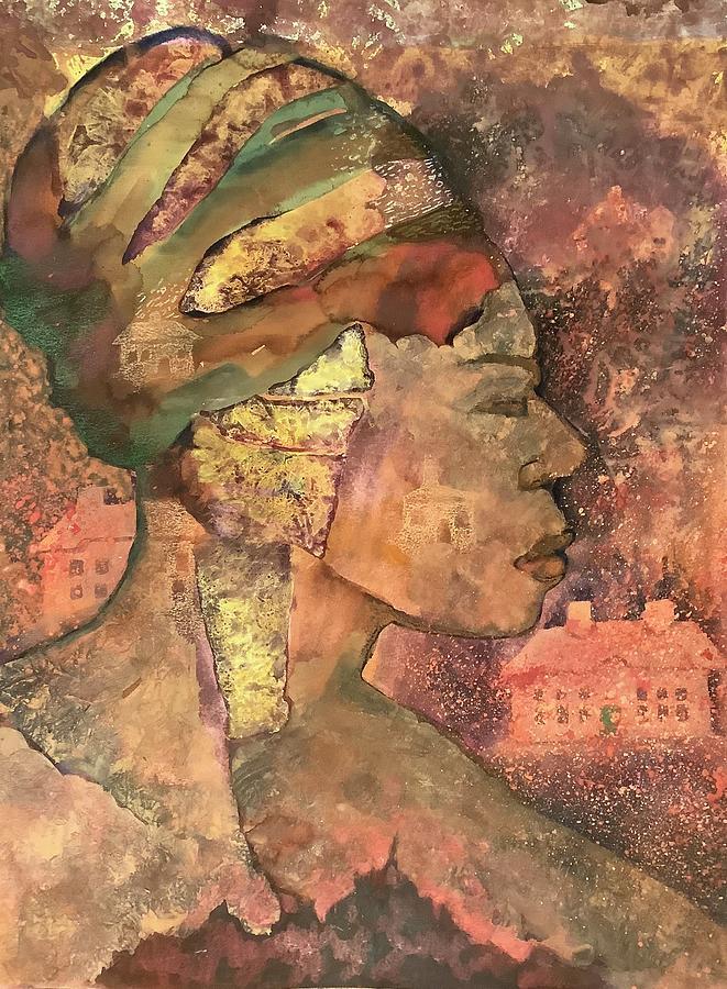 Woman in Portimao by James Huntley