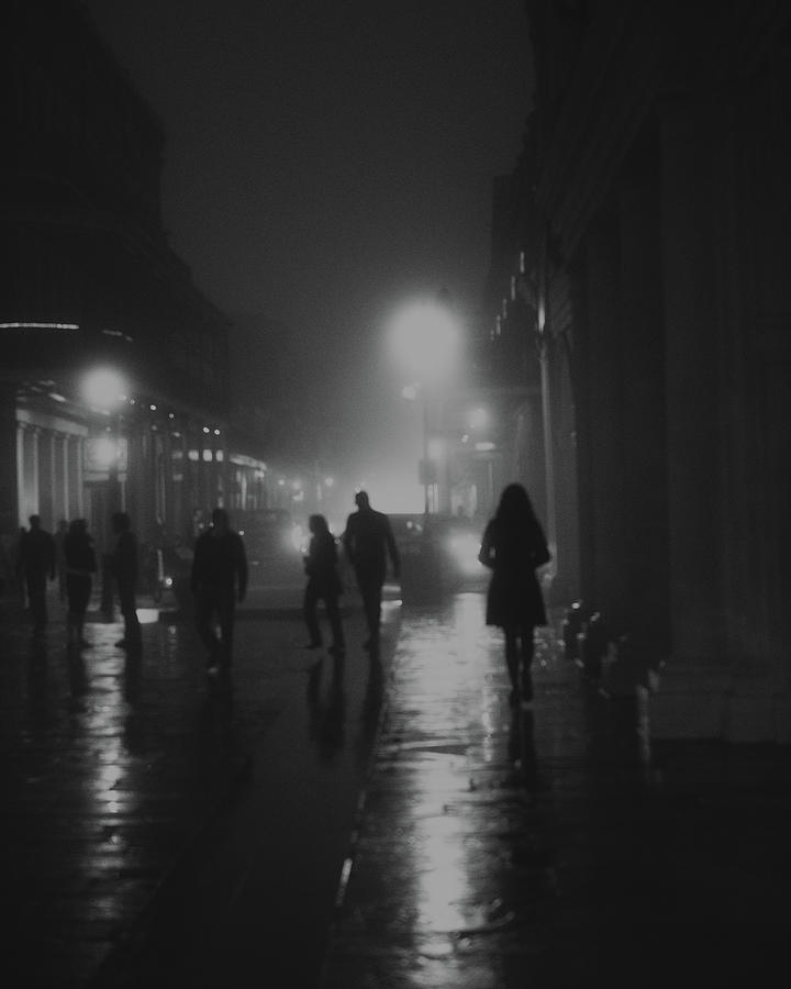 Bourbon St Photograph - In the Fog by Wiliam Graham