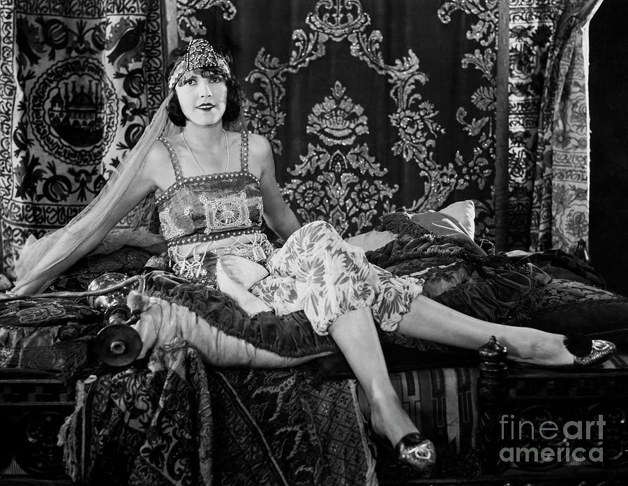 Woman Lounging In Moorish Costume Photograph by Bettmann