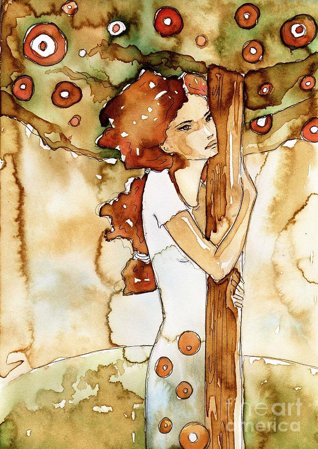 woman tree by Katarzyna Bruniewska-Gierczak