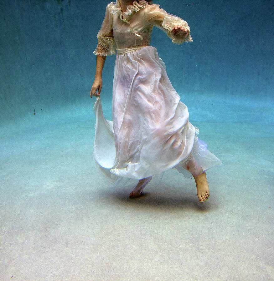 Woman Underwater Photograph by Taylor Dawn Fortune