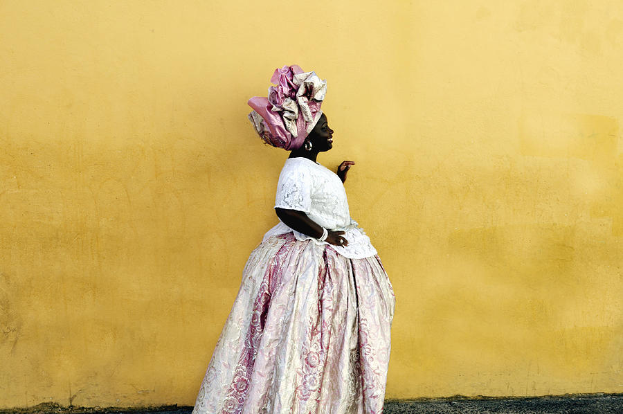 Woman Wearing Traditional Brazilian Photograph by Buena Vista Images