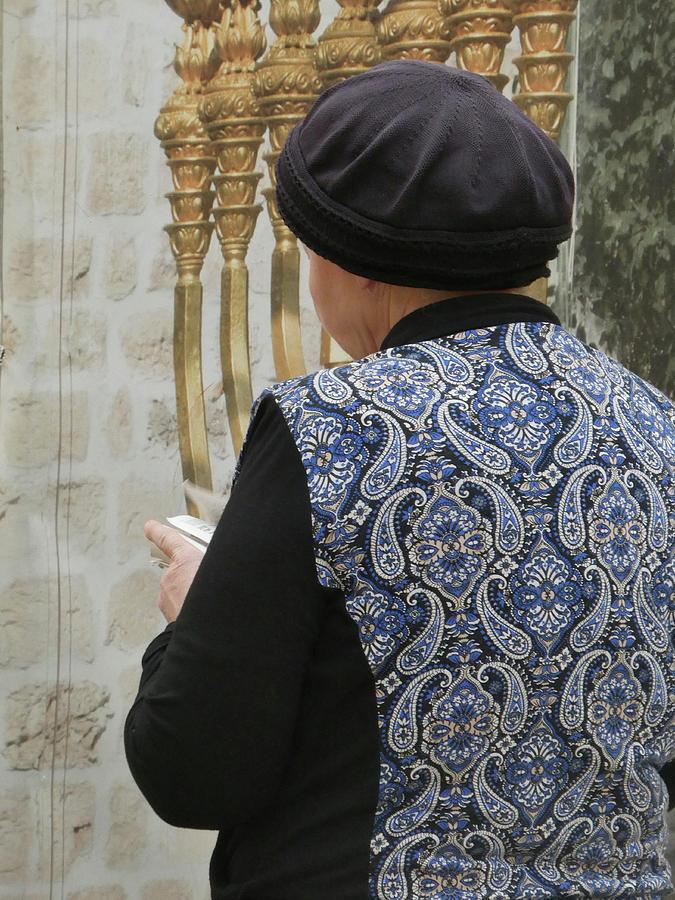 Woman with Prayer Book by Marcia Socolik