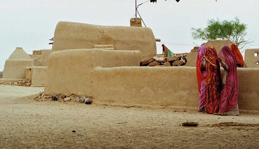 Women Gossiping, Rajasthan Photograph by Chandan Dubey