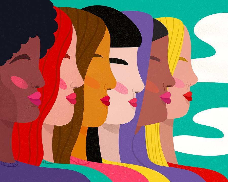 Women Digital Art by Nicole Wilson