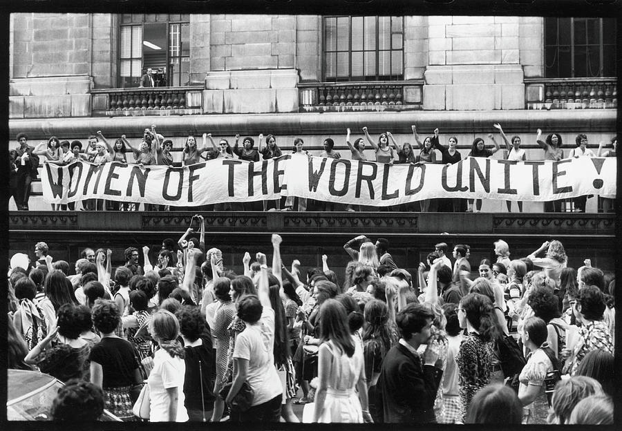 Women Of The World Unite Photograph by Fred W. McDarrah