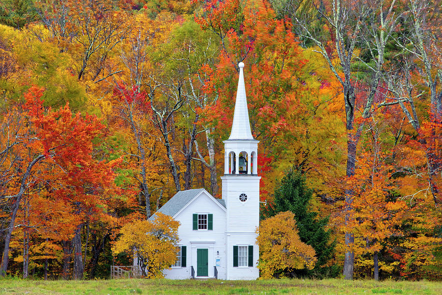Wonalancet Union Church by Juergen Roth