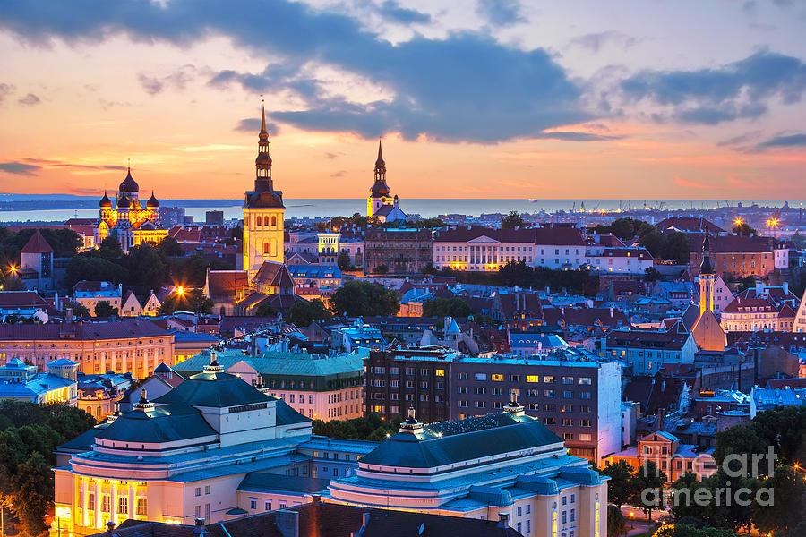 Capital Photograph - Wonderful Evening Scenic Summer by Oleksiy Mark