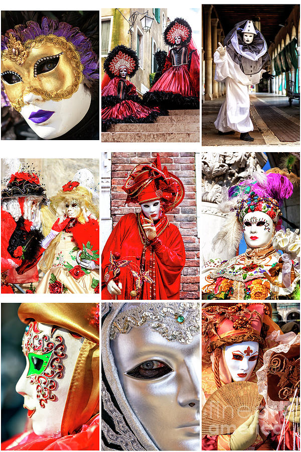 Wonders of Carnival in Venice by John Rizzuto