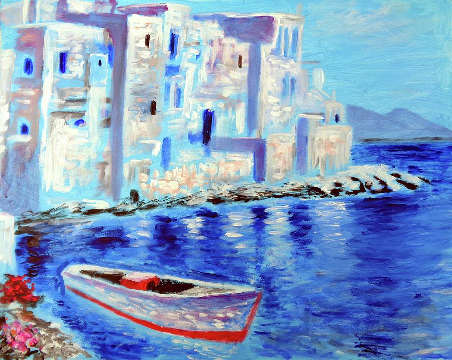 wondrous mykonos  by Larry Cirigliano