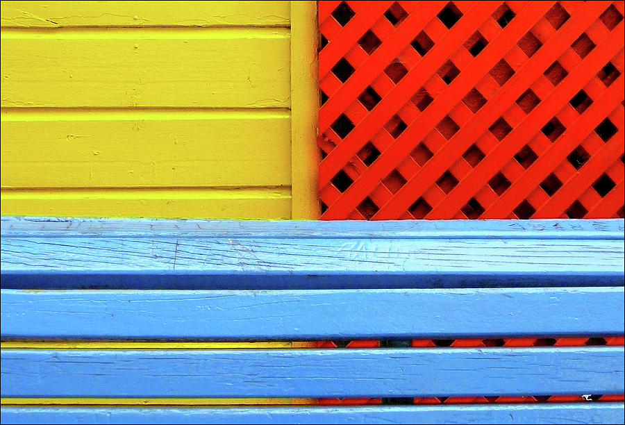 Wood And Colors Photograph by By Felicitas Molina