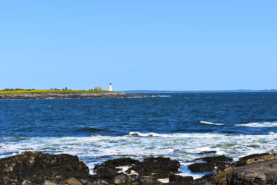 Wood Island Lighthouse 1 by Nina Kindred