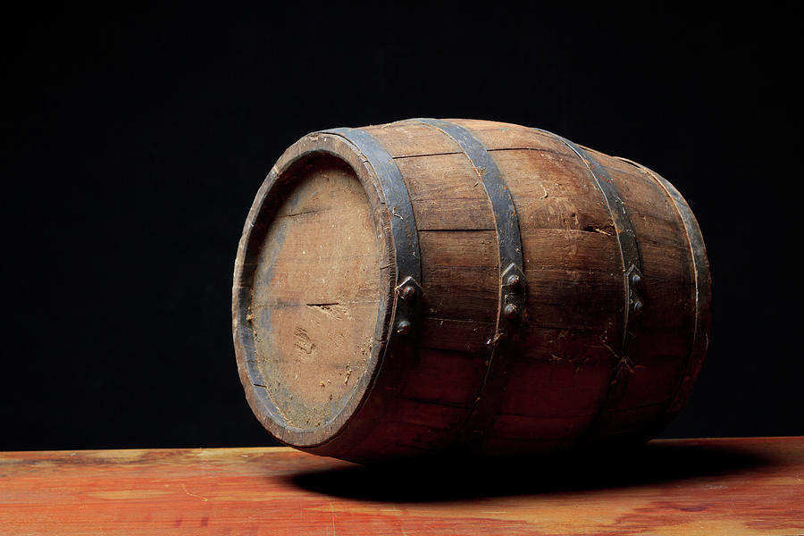 Wooden Barrel Photograph by Valentinrussanov