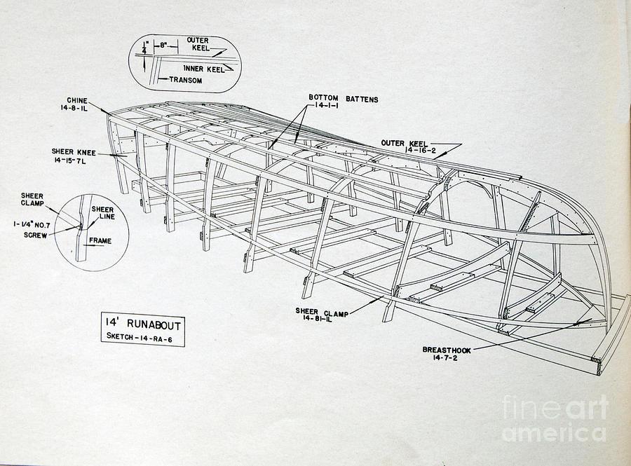 Wooden Boat Plans by Randy J Heath