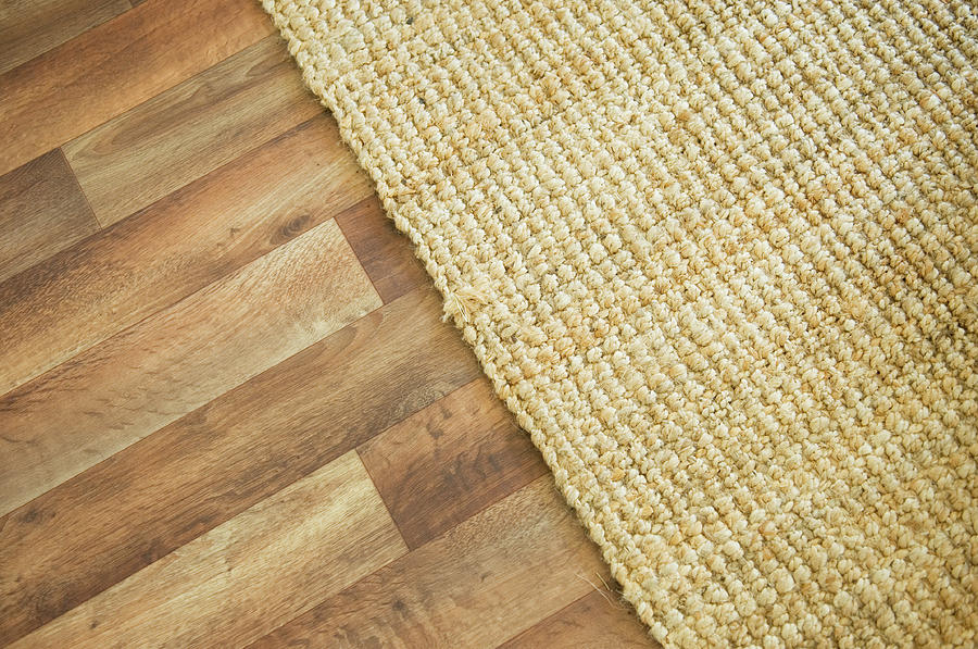 Wooden Floor And Rug Photograph by Northlightimages
