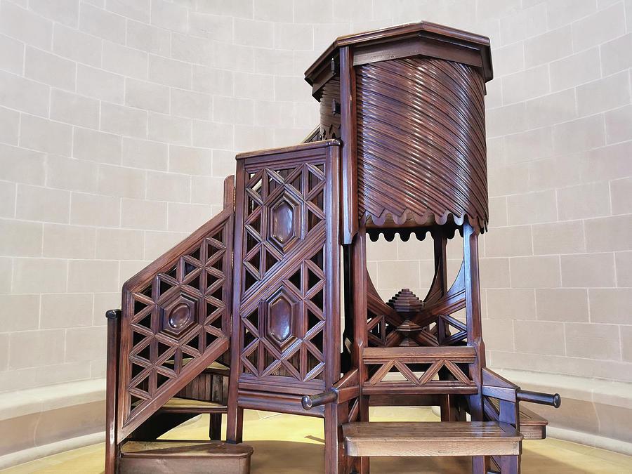 Wooden Pulpit by Art Spectrum
