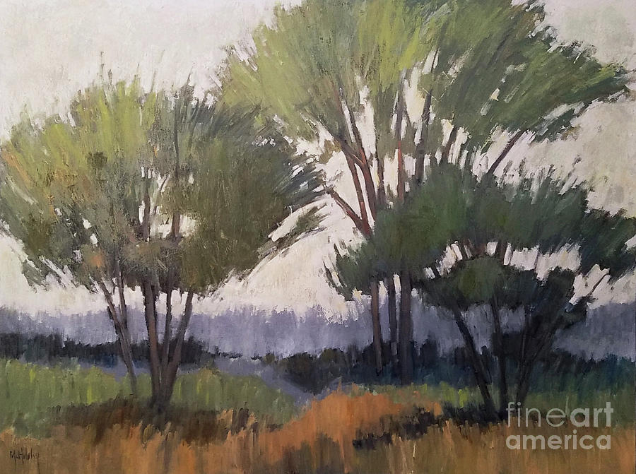 Woodland Mist by Mary Hubley