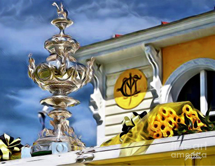 Woodlawn Vase Preakness Trophy by CAC Graphics