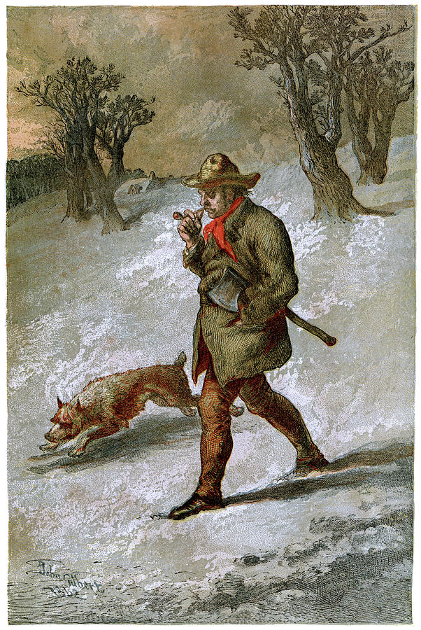 Woodsman And His Dog Digital Art by Duncan1890