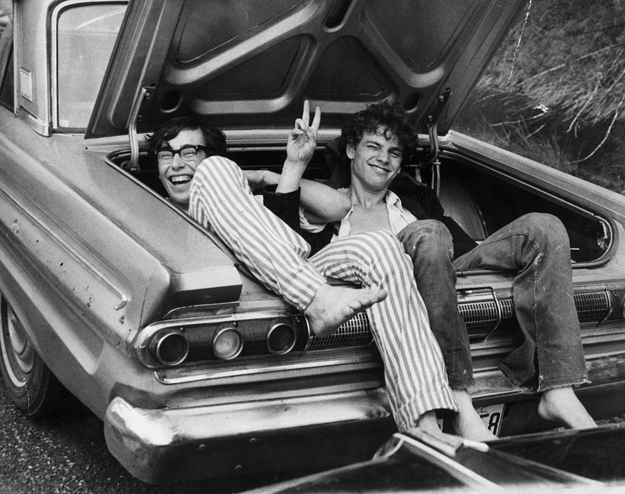 Woodstock Hitchers Photograph by Three Lions