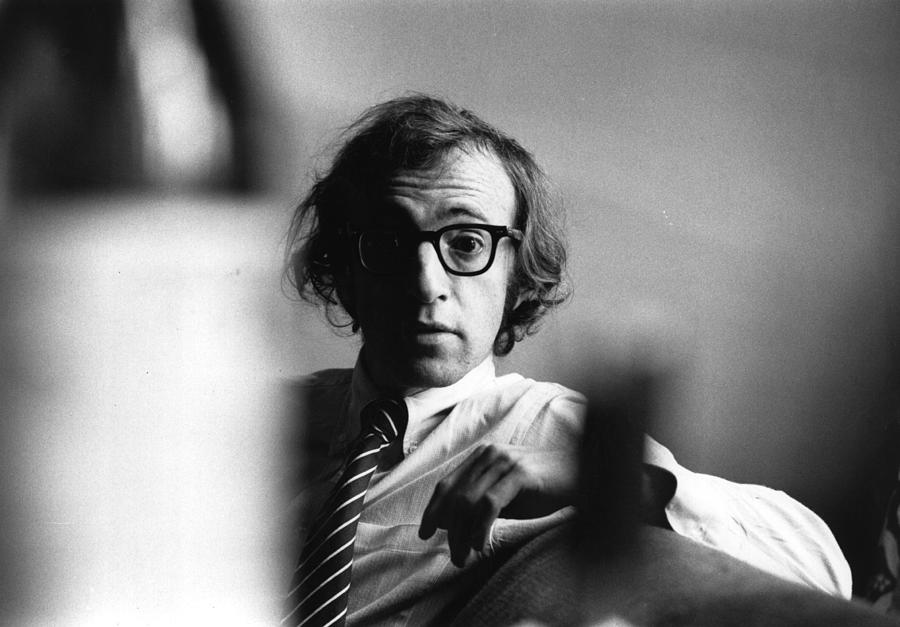 Woody Allen Photograph by Evening Standard
