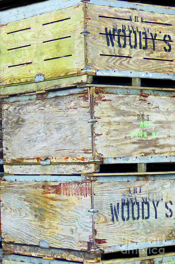 Woodys Apple Crates 300 Painting