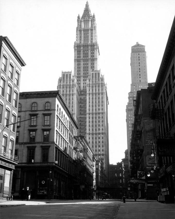 Woolworth Building, New York City, New Photograph by Jupiterimages