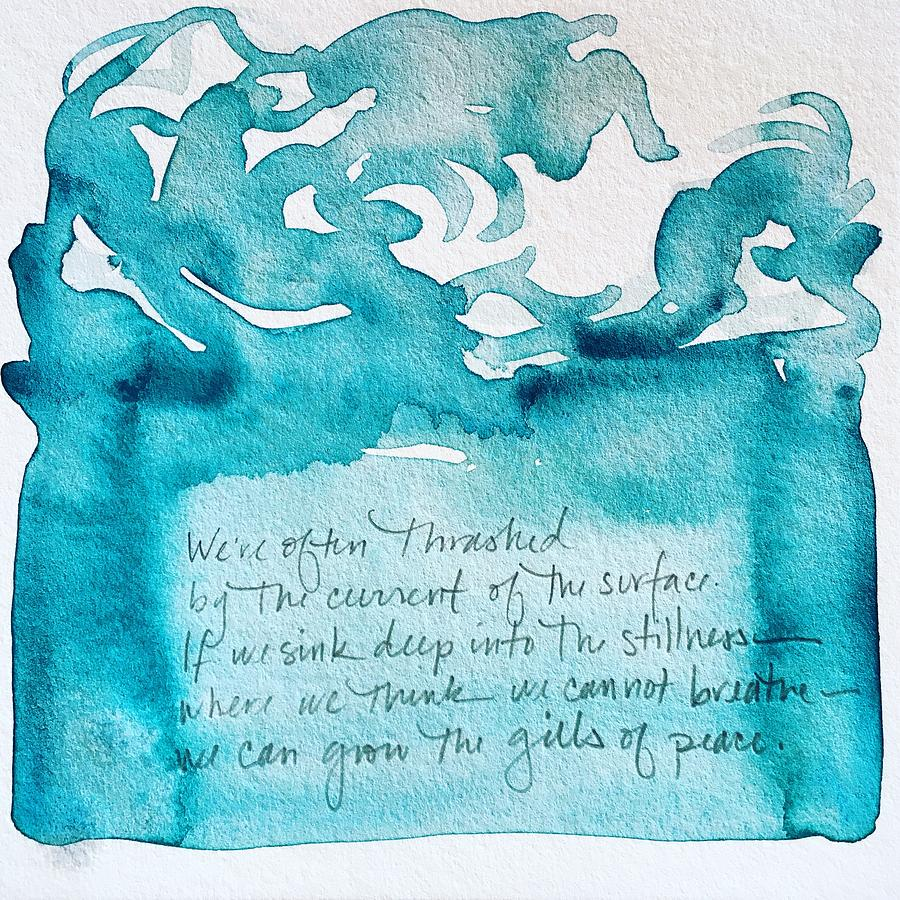Word Painting 3 by Anna Elkins