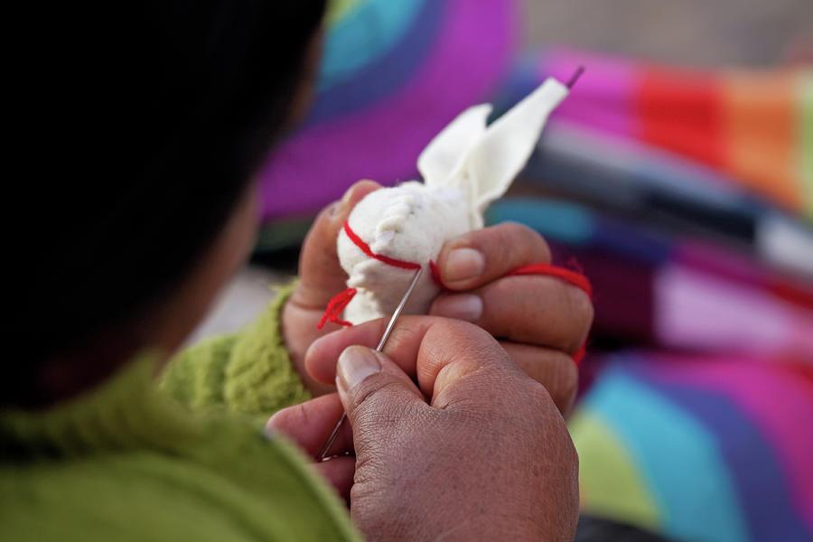Working hands in San Cristobal de Las Casas, Mexico by Tatiana Travelways