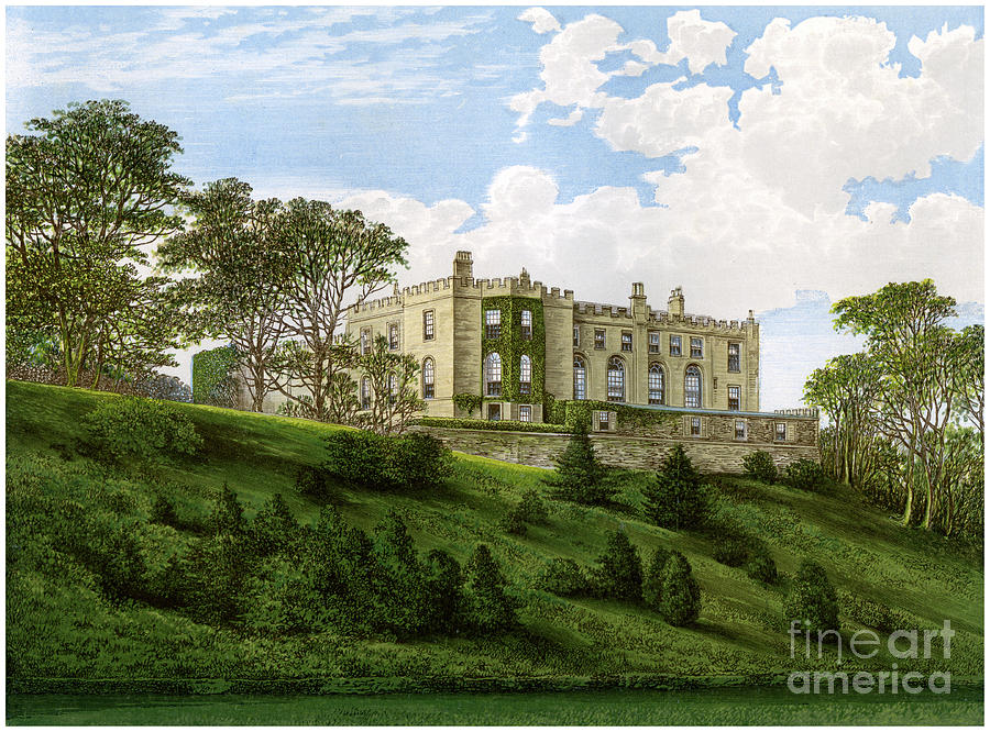 Workington Hall, Cumberland, Home Drawing by Print Collector