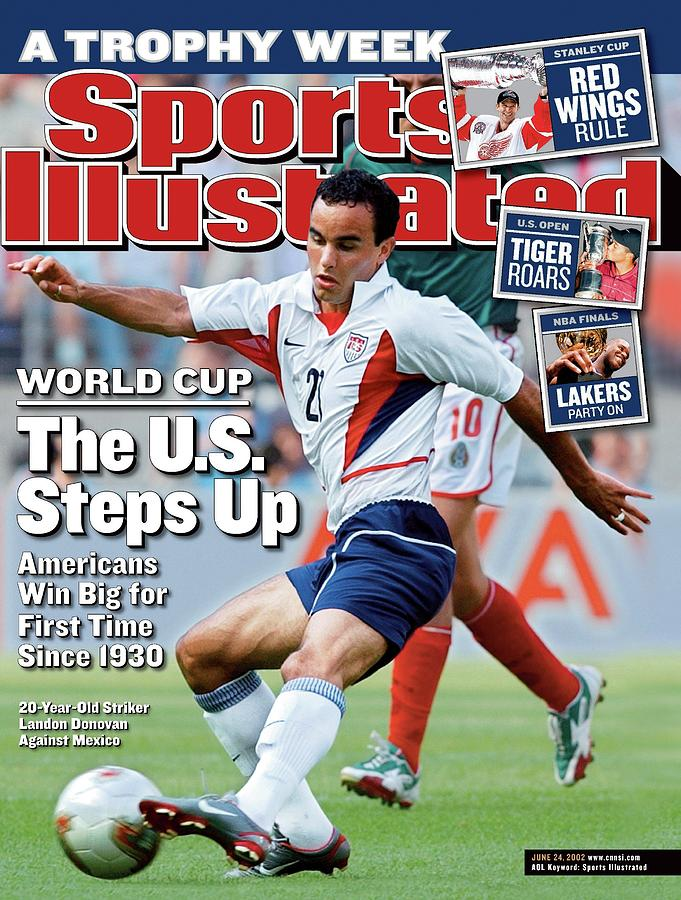 World Cup The U.s. Steps Up, Americans Win Big For First Sports Illustrated Cover Photograph by Sports Illustrated