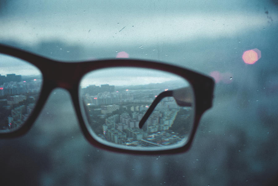 World In The Glass Photograph by - Lexilee -