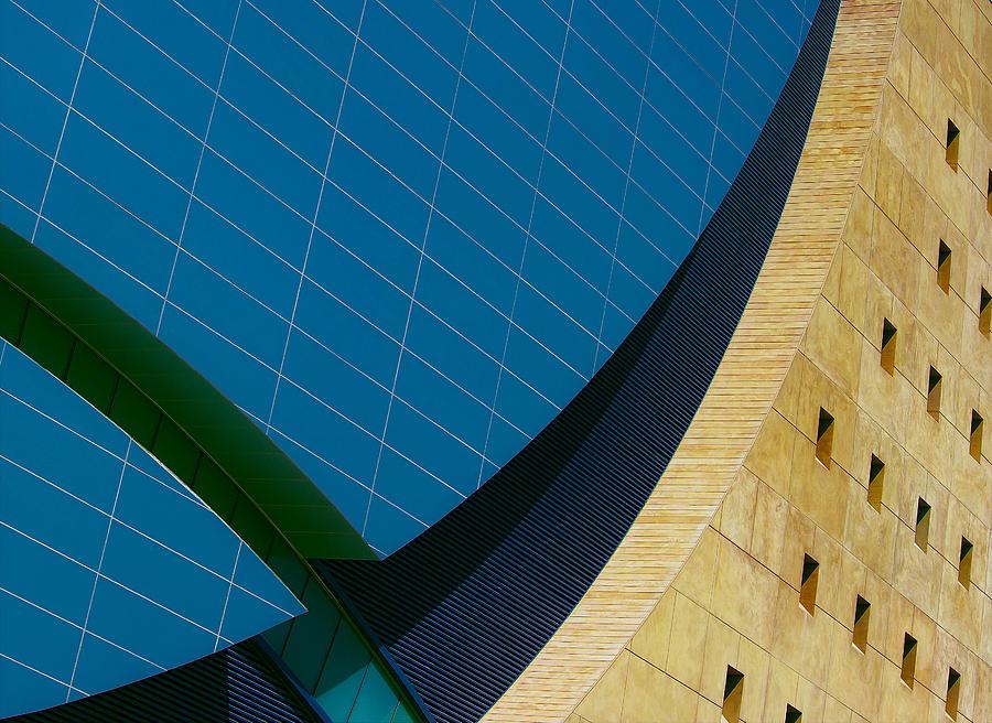 Architecture Photograph - World Market Center, Las Vegas by Kirk Cypel