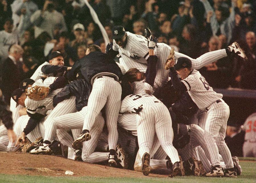 World Series 6 Yankees Photograph by Al Bello