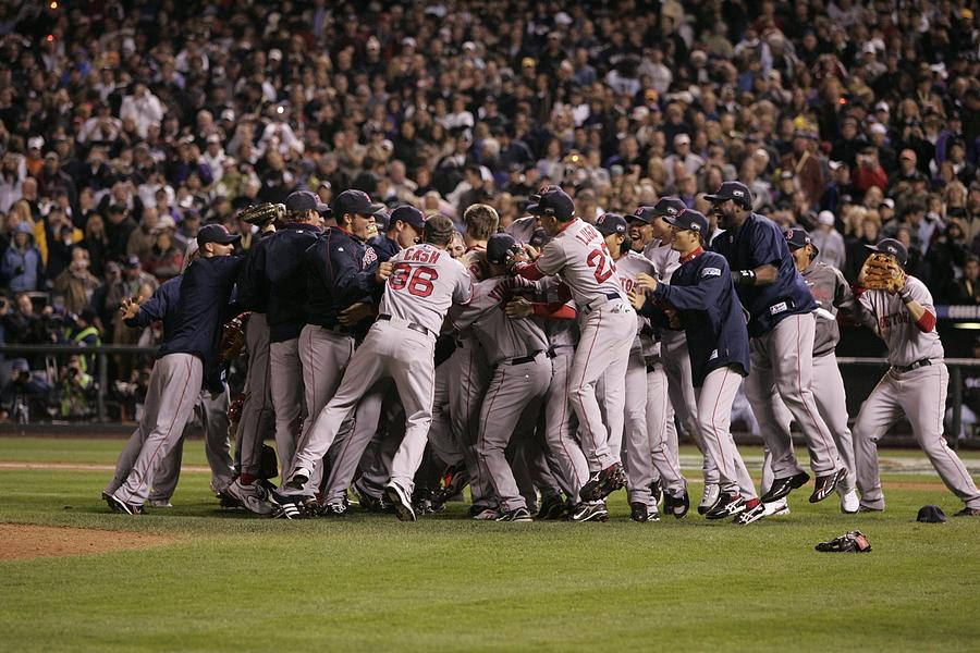 World Series Boston Red Sox V Colorado Photograph by Rich Pilling