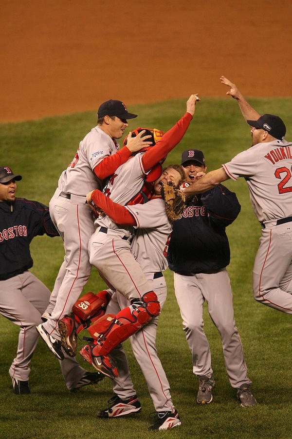 World Series Boston Red Sox V Colorado Photograph by Ron Vesely
