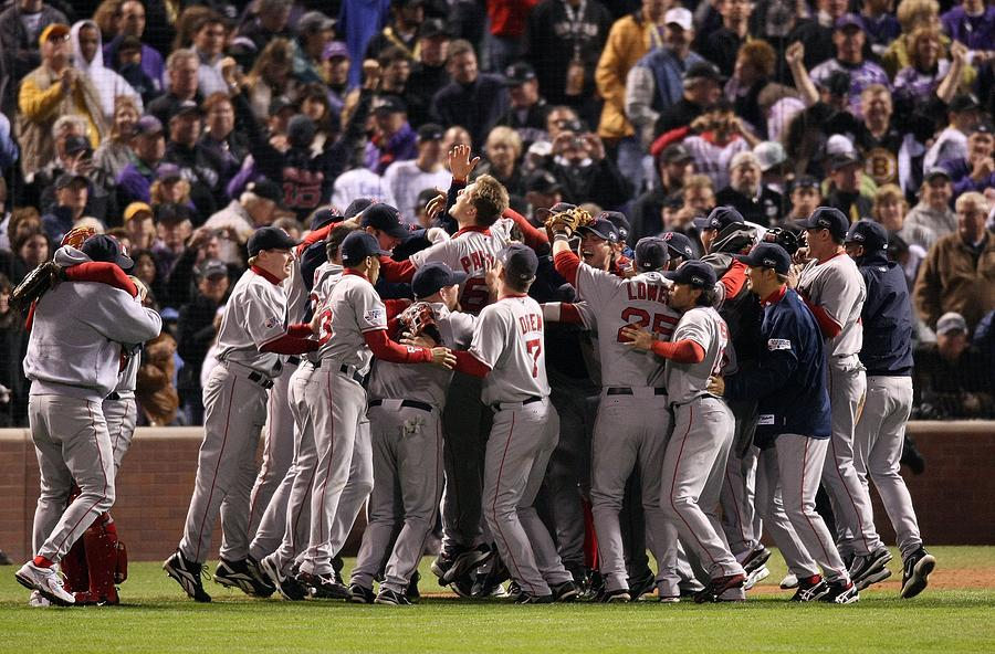 World Series Boston Red Sox V Colorado Photograph by Stephen Dunn