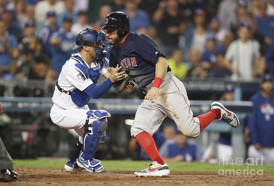 World Series - Boston Red Sox V Los Photograph by Ezra Shaw