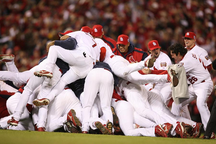World Series Game 5 St. Louis Cardinals Photograph by Rich Pilling