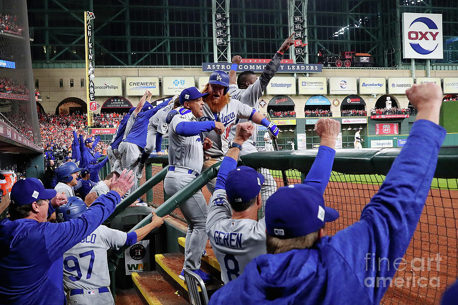 World Series - Los Angeles Dodgers V Photograph by Jamie Squire