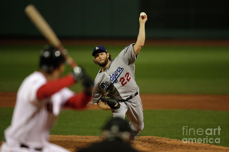 World Series - Los Angeles Dodgers V Photograph by Pool