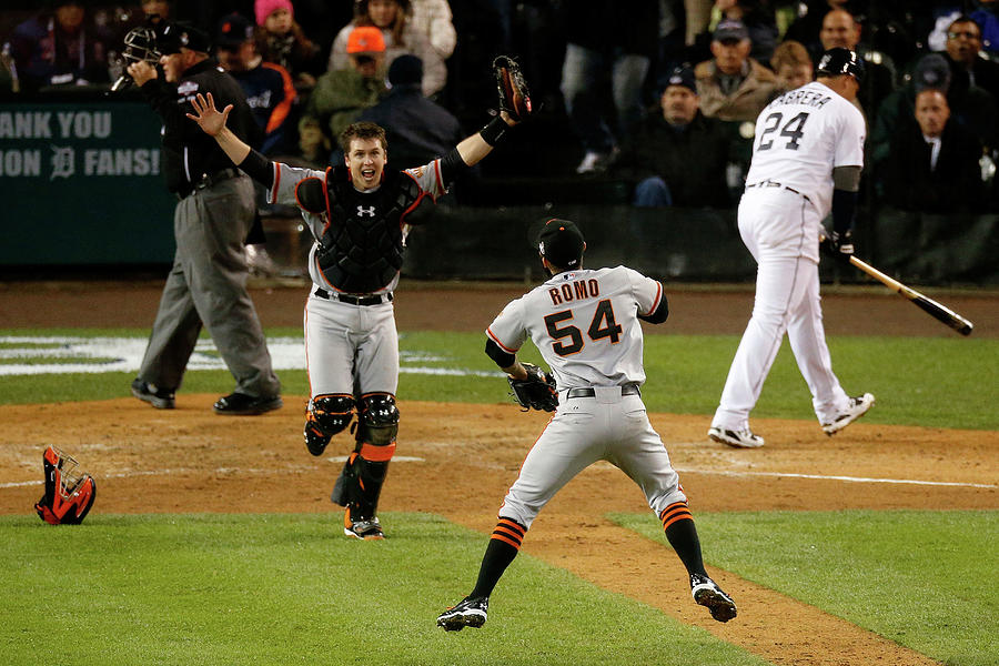 World Series - San Francisco Giants V Photograph by Leon Halip