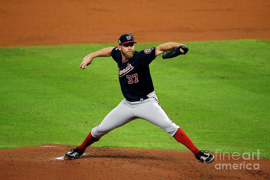 World Series - Washington Nationals V Photograph by Bob Levey
