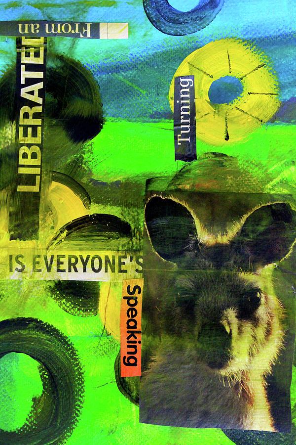 World Speak Collage by Nancy Merkle